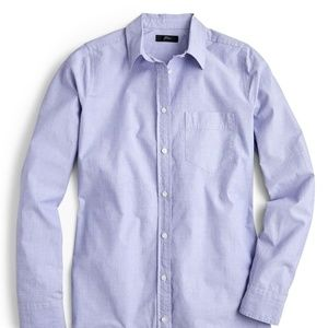 J. Crew Everyday boy shirt in end on end cotton